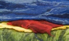 Fieltro colorido Fotografía de archivo libre de regalías