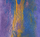 Fieltro de las fibras de las lanas y de la seda hechas por el batanado mojado Simulación de Fotografía de archivo