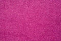 Fieltro del color de rosa Imagen de archivo libre de regalías