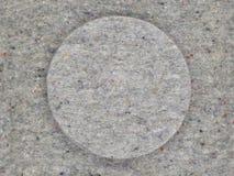 Fieltro, estructura, gris, circular Foto de archivo libre de regalías