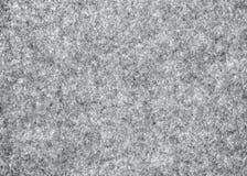 Fieltro natural gris como fondo Foto de archivo libre de regalías