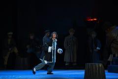 "Fiendemedel-Peking opera som ""Taking Tiger Montain By Strategyâ € Arkivbild"