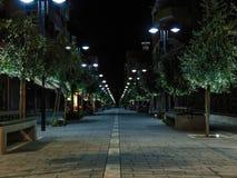 Fier, Albania city street. royalty free stock photo