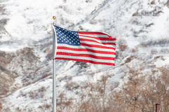 Fier d'être un Américain images libres de droits