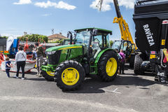 35° Fiera Agricola di Treviglio. 35° Agricultural fair in Treviglio (BG), Lombardy, Italy. With tractors, cattle and many more Stock Images