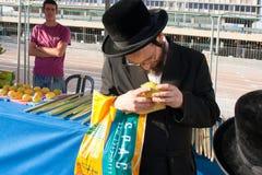 Fiera alla festa biblica Sukkot Fotografie Stock Libere da Diritti