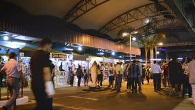 Fiera conosciuta come Feira Central De Campo Grande archivi video
