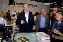 FIERA DEL LIBRO 2015 DI COPENHAGHEN Fotografie Stock Libere da Diritti