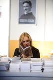 Fiera del libro internazionale di Belgrado Immagini Stock