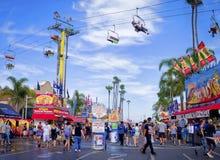 Fiera della contea, San Diego California Fotografie Stock