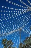 Fiera di aprile di Utrera nella decorazione e nei cavalli di Siviglia Fotografia Stock