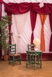 Fiera di Utrera nella decorazione di Siviglia Fotografia Stock