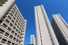 Fiera district bologna skyscraper. Original photo by fiera district, bologna, italy Royalty Free Stock Photography