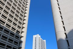 Fiera district bologna skyscraper. Original photo by fiera district, bologna, italy Stock Photos