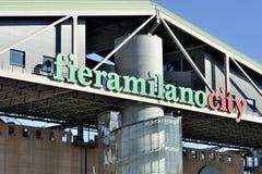 Fiera Mailand - Milan Fair Lizenzfreies Stockfoto