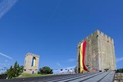 Fiera medievale al castello di Pinhel nel distretto di Guarda, Po Immagini Stock Libere da Diritti