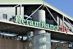 Fiera Milano - Mediolański jarmark Zdjęcie Royalty Free