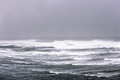 Fierce winter Atlantic ocean Stock Photography