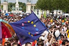 Fierté 2011 de Bdapest Photos libres de droits