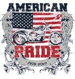 Fierté américaine Image libre de droits