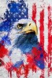 Fierté américaine illustration stock