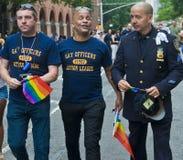 Fierté d'homosexuel de New York photos libres de droits