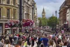 Fierté dans le défilé gai de Londres Image stock
