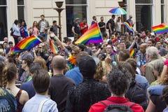 Fierté dans le défilé gai de Londres Photo libre de droits
