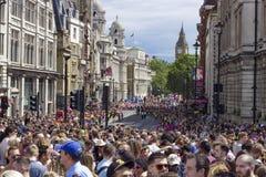 Fierté dans le défilé gai de Londres Photos stock
