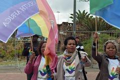 Fierté 2016 de Durban Images libres de droits