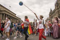 Fierté 2017 de Liverpool Photos libres de droits