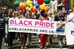 2013, fierté de Londres Image libre de droits