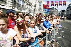 2013, fierté de Londres Images libres de droits