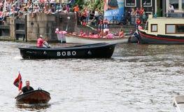 Fierté gaie 2015 d'Amsterdam Photos libres de droits