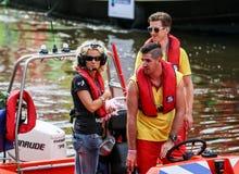 Fierté gaie 2015 d'Amsterdam Images libres de droits