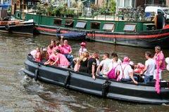 Fierté gaie 2015 d'Amsterdam Image libre de droits