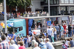 Fierté gaie 2014 d'Anvers Photographie stock libre de droits