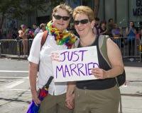 Fierté gaie de San Francisco Image libre de droits
