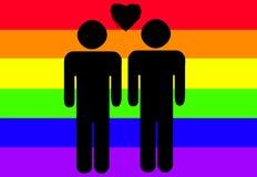 Fierté homosexuelle Images stock