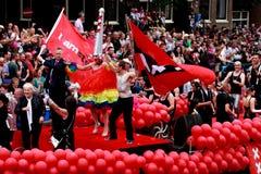 Fierté homosexuelle 2011 d'Amsterdam Photos libres de droits