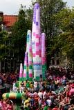 Fierté homosexuelle 2011 d'Amsterdam Image libre de droits
