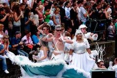 Fierté homosexuelle 2011 d'Amsterdam Photographie stock libre de droits