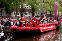 Fierté homosexuelle 2011 d'Amsterdam Photo stock