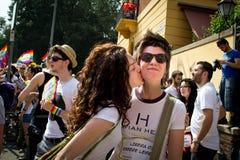 Fierté homosexuelle image libre de droits