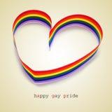 Fierté homosexuelle heureuse Photos stock