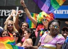 Fierté homosexuelle le mars 2010 de New York Photographie stock libre de droits