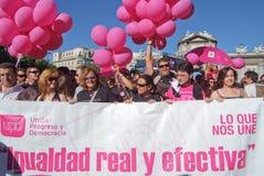 Fierté homosexuelle Madrid le juillet 2008 Photographie stock libre de droits