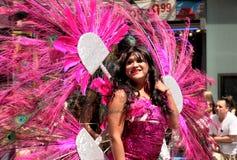 Fierté homosexuelle mars de NYC le 28 juin 2009 Photographie stock