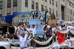 Fierté mars de NYC le 28 juin 2009 Photographie stock