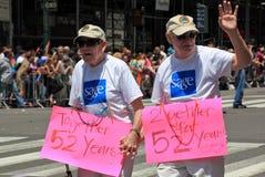 Fierté mars de NYC le 28 juin 2009 Images stock